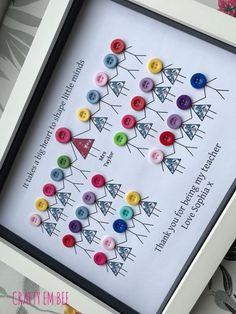 Christmas Gift Baskets, Teacher Christmas Gifts, Handmade Teacher Gifts, Personalised Teacher Gifts, Christmas Gift Ideas, Christmas Thank You Gifts, Christmas Diy, Christmas Gifts For Grandma, Christmas Frames