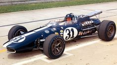 Dan Gurney in ( Gurney  ) American Eagle @IMS