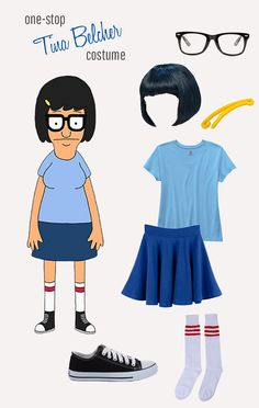 Love Bob's Burgers? Here's how to create your own Tina Belcher costume.