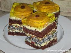 Ciasto cycki teściowej - Obżarciuch Homemade Cakes, Vanilla Cake, Tiramisu, Banana, Ethnic Recipes, Easy, Bananas, Tiramisu Cake, Fanny Pack