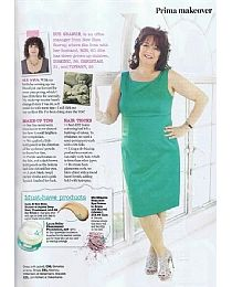 Shea Butter & Jojoba Deep Hair Treatment in Prima Magazine
