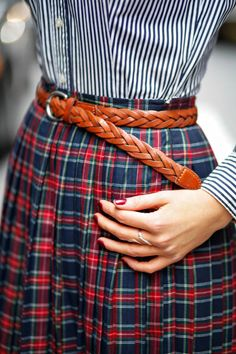#Plaits, #Pleats, And #Plaid  #