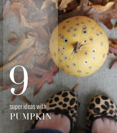 Crafts, recipes, and a few surprise uses for pumpkin.