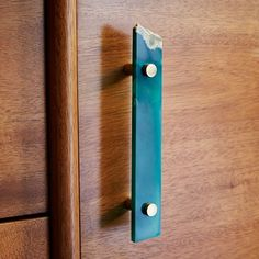 Agate + Brass Pull, Green