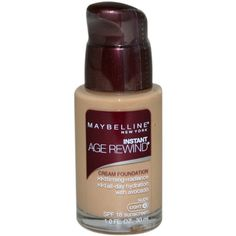 Maybelline Instant Age Rewind Women Foundation SPF18, Nude Light 4, 1 Ounce -- Continue to the product at the image link. (This is an Amazon affiliate link)