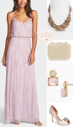 Bridesmaid Looks You'll Love  - www.theperfectpalette.com - Styled Pretty