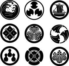 Japanese kamon crest - http://en.wikipedia.org/wiki/Kamon_(crest)