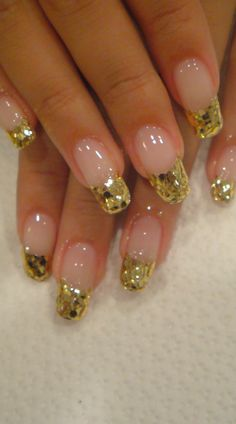 Nail Art... #nail #nails #nailart #unha #unhas #unhasdecoradas #gold #dourado