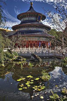 El Templo del Cielo es para las ceremonias sagradas del emperador.