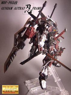 GUNDAM GUY: 1/100 Gundam Astray 忍 (Shinobi) Frame - Custom Build