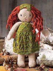 Animal, Doll & Toy Knitting Patterns - Woodland Sprite Fairy Knit Pattern