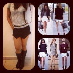 Assimetric skirt