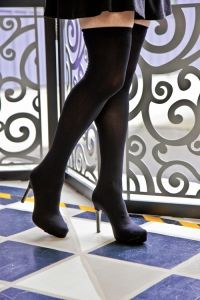 No-sew cosplay thigh high boots: http://blog.sockdreams.com/2015/03/16/cosplay-corner-no-sew-thigh-high-boots/