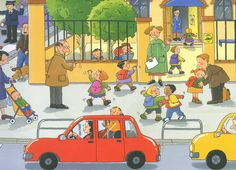 Anem a l'escola Communication Pictures, Communication Orale, French Pictures, Hidden Pictures, How To Speak French, How To Speak Spanish, Picture Story For Kids, Hindi Language Learning, Back To School Art