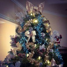 Christmas Tree and Bows