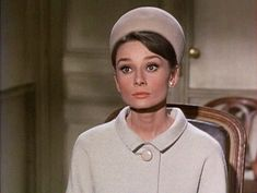Audrey Hepburn in Charades! Love her in this movie and plain love HER! :)