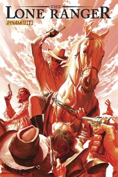 The Lone Ranger #1 by Alex Ross. If only the movie had been as cool as this.
