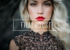 Film Boost LR Preset [Indie Muse] by LOU&MARKS on @creativemarket
