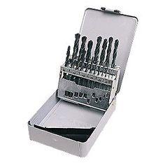 HSS Metal Boxed Drill Bit Set Metric 19 Pc