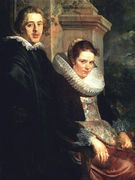 Portrait of a Young Married Couple - Jacob Jordaens - www.jacobjordaens.org