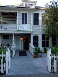 Sugar Plum Vegan Cafe, one of our faves :)