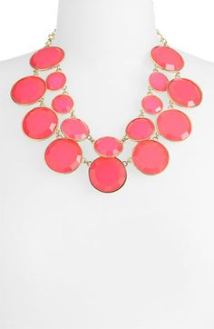 kate spade new york 'bauble box' double row bib necklace -- Great for summer