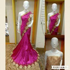 Latest Designer Border Party Wear Saree.