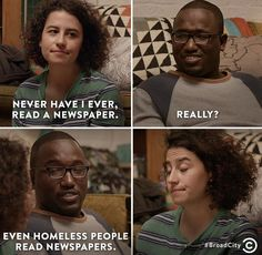 Broad City. One of the funniest shows ive ever seen.