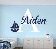 wall decal for boys nautical art vinyl nursery decals flower decor home living room sticker