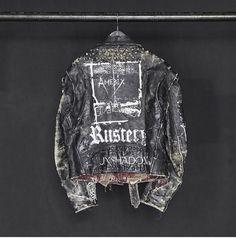 Vivienne Westwood, Bomber Jacket, Menswear, Leather Jacket, Denim, Jackets, Punk Art, Style, Music