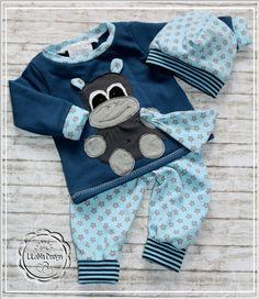 Sets - ♥Süßes Baby Newborn Set gr.56 3tlg.♥ - ein Designerstück von LiLaNa-Design bei DaWanda
