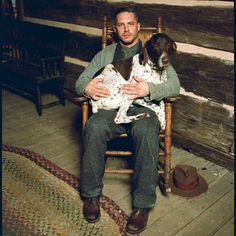 Tom Hardy as Forest Bondurant in Lawless - I have a feeling he might be my dream man in this movie.  :)  (aside from the super violence part)