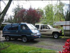 Toyota 4 Wheel Drive Van