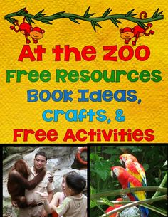 LMN Tree: Let's Go to the Zoo: Free Resources, Free Craft Ideas, and Free Activities