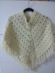 Ravelry: Stylish Poncho pattern by Pierrot (Gosyo Co., Ltd)