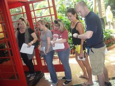 Phone booths still exist? Sure do! And you may have to hunt for them during an RnD Events Scavenger Hunt.  http://rndevents.com/blog/category/scavenger-hunts/