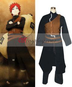 Naruto Shippuuden Gaara 5th Kazekage Cosplay Costume