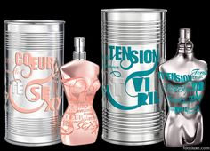 Jean Paul Gaultier Classique Silver My Skin and Le Male Silver My Skin