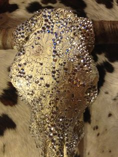 Vintage and amazing cow skull / Facebook / jack it up designs