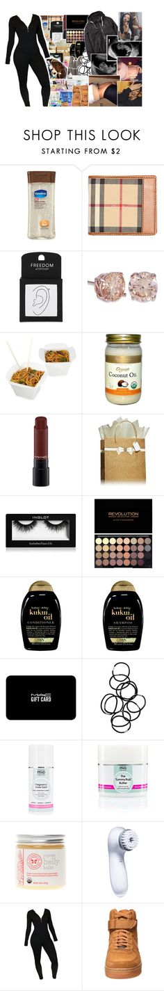 """""""[ ailani ]"""" by b-lackb3ar ❤ liked on Polyvore featuring beauty, Burberry, Topshop, Fortessa, MAC Cosmetics, Inglot, Organix, Monki, Mama Mio and The Honest Company"""