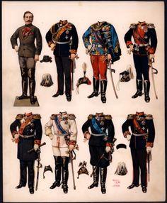 kaiser wilhelm paper doll 1880s