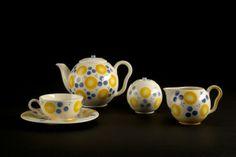 Carstens flower tea set by Eva Zeisel. From Eva Zeisel: Life, Design, and Beauty, edited by Pat Kirkham, courtesy of Chronicle Books