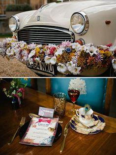 A Unique Extraordinary & Eccentric Bridal Shoot