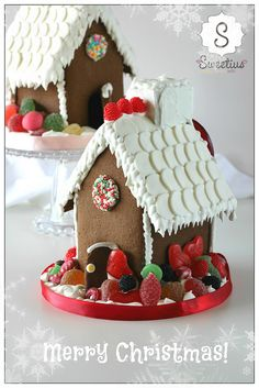 gingerbread house 2 Merry Christmas, Gingerbread Houses, House 2, Desserts, Food, Merry Little Christmas, Tailgate Desserts, Deserts, Essen