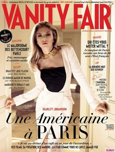 Scarlett Johansson Graces Cover Of First 'Vanity Fair France' In Style