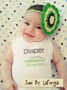 Funny+Onesie++Diaper+Loading+by+BYLAFORGIA+on+Etsy,+$12.00