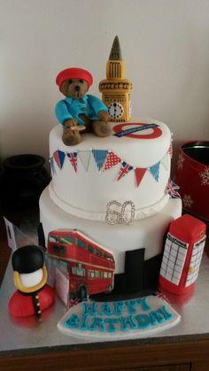 London theme cake