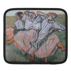 Three Russian Dancers by Edgar Degas iPad Sleeves