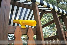 playset makeover - Crazy Wonderful - Ashley Gallipo - Re-Wilding Playset Diy, Backyard Playset, Wooden Playset, Backyard Playground, Backyard For Kids, Backyard Projects, Playground Ideas, Outdoor Playset, Backyard Toys
