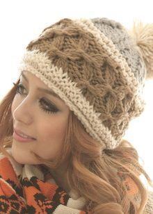 a577def75a0 13 Amazing Chunky Knit Pom Pom Beanies images